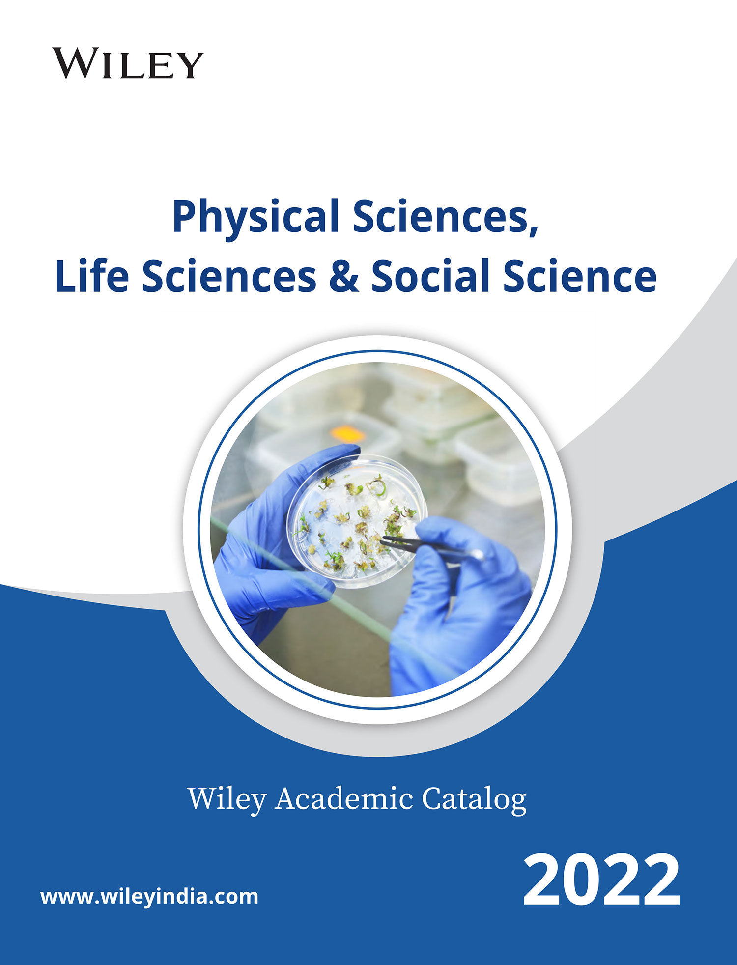 Wiley Physical Sciences Catalog 2021