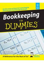 Bookkeeping for Dummies