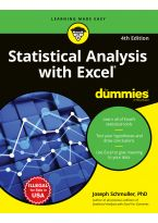 Statistical Analysis with Excel For Dummies, 4ed