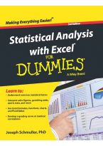 Statistical Analysis with Excel for Dummies, 3ed