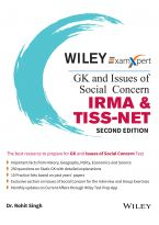 Wiley's ExamXpert GK and Issues of Social Concern - IRMA & TISS-NET, 2ed
