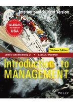 Introduction to Management, 13ed, ISV