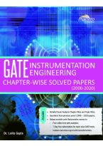 Wiley's GATE Instrumentation Engineering Chapter - wise Solved Papers (2000 - 2020)