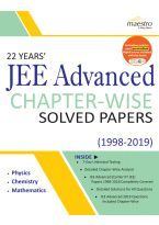 Wiley's 22 Years' JEE Advanced Chapter-Wise Solved Papers (1998-2019)