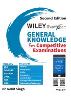 Wiley's ExamXpert General Knowledge for Competitive Examinations, 2ed