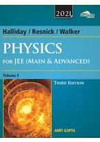 Wiley's Halliday  /  Resnick  /  Walker Physics for JEE (Main & Advanced), Vol I, 3ed, 2021