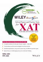 Wiley's ExamXpert Solved Papers and Practice Tests for XAT (Xavier Aptitude Test)