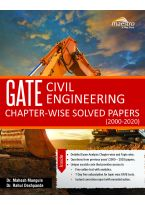 Wiley's GATE Civil Engineering Chapter - wise Solved Papers (2000 - 2020)
