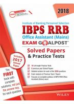 Wiley's IBPS RRB Office Assistant (Mains) Exam Goalpost Solved Papers & Practice Tests, 2018