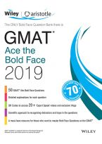 Wiley's GMAT Ace the Bold Face 2019