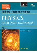 Wiley's Halliday / Resnick / Walker Physics for JEE (Main & Advanced), Vol I, 3ed, 2020