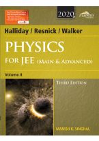 Wiley's Halliday / Resnick / Walker Physics for JEE (Main & Advanced), Vol II, 3ed, 2020