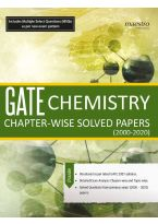 Wiley's GATE Chemistry Chapter - Wise Solved Papers (2000 - 2021)