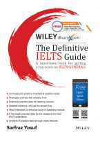 Wiley's ExamXpert The Definitive IELTS Guide