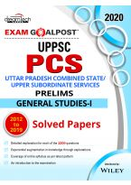 UPPSC PCS Exam Goalpost, Prelims, General Studies - I, 2012 to 2019 Solved Papers