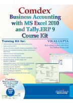 Comdex Business Accounting with MS Excel and Tally ERP 9 Course kit