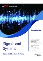 Signals and Systems, 2ed, An Indian Adaptation