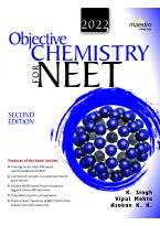 Wiley's Objective Chemistry for NEET, 2ed, 2022
