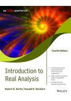 Introduction to Real Analysis, 4ed, An Indian Adaptation
