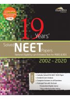Wiley's 19 Years' Solved NEET Papers 2002 - 2020