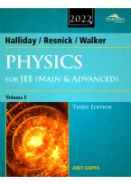 Wiley's Halliday / Resnick / Walker Physics for JEE (Main & Advanced), Vol I, 3ed, 2022