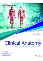 Ellis' Clinical Anatomy for Medical Students, 2ed, An Indian Adaptation: Applied Anatomy for Studentsand Junior Doctors