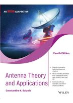 Antenna Theory and Applications, 4ed (An Indian Adaptation)