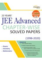 Wiley's 23 Years' JEE Advanced Chapter - Wise Solved Papers (1998 - 2020)