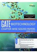 Wiley's GATE Biotechnology Chapter - Wise Solved Papers (2000 - 2021)