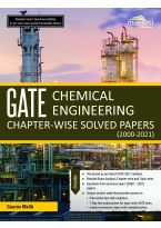 Wiley's Gate Chemical Engineering Chapter - Wise Solved Papers (2000 - 2021)