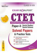 CTET Exam Goalpost, Paper-II, Social Studies/Social Science, Solved Papers & Practice Tests