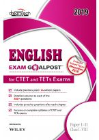 English Exam Goalpost, for CTET and TETs Exams, Paper I-II, Class I-VIII, 2019