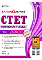 CTET Comprehensive Guide Exam Goalpost, Paper-I, Class I-V, 2019