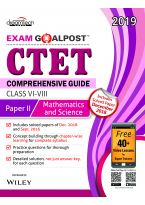 CTET Comprehensive Guide Exam Goalpost, Paper-II, Mathematics and Science, Class VI-VIII, 2019