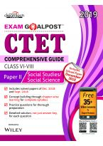 CTET Comprehensive Guide Exam Goalpost, Paper - II, Social Studies / Social Science, Class VI - VIII, 2019