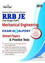 RRB JE 2nd Stage (CBT) Mechanical Engineering Exam Goalpost Solved Papers & Practice Tests, 2019