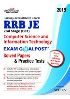 RRB JE 2nd Stage (CBT) Computer Science and Information Technology Exam Goalpost Solved Papers & Pra