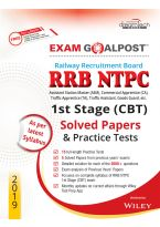 RRB NTPC 1st Stage (CBT) Exam Goalpost Solved Papers and Practice Tests, 2019