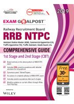 RRB NTPC Exam Goalpost Comprehensive Guide, 1st Stage and 2nd Stage (CBT), 2019