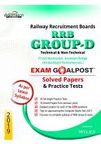 RRB Group-D, Technical & Non-Technical, Exam Goalpost Solved Papers and Practice Tests, 2019