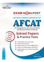 Air Force Common Admission Test (AFCAT) Exam Goalpost Solved Papers & Practice Tests, 2019: For Flying Branch and Ground Duties (Technical and Non-Technical)