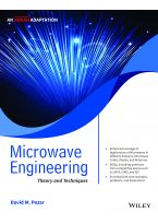 Microwave Engineering, An Indian Adaptation: Theory and Techniques