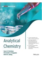 Analytical Chemistry, An Indian Adaptation