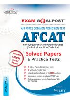 Air Force Common Admission Test (AFCAT) Exam Goalpost Solved Papers & Practice Tests, 2020: For Flying Branch and Ground Duties (Technical and Non-Technical)