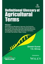 Definitional Glossary of Agricultural Terms, Vol-I