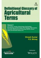 Definitional Glossary Of Agricultural Terms, Vol-II