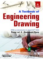 A Textbook of Engineering Drawing (With an Introducion to AutoCAD 2015)