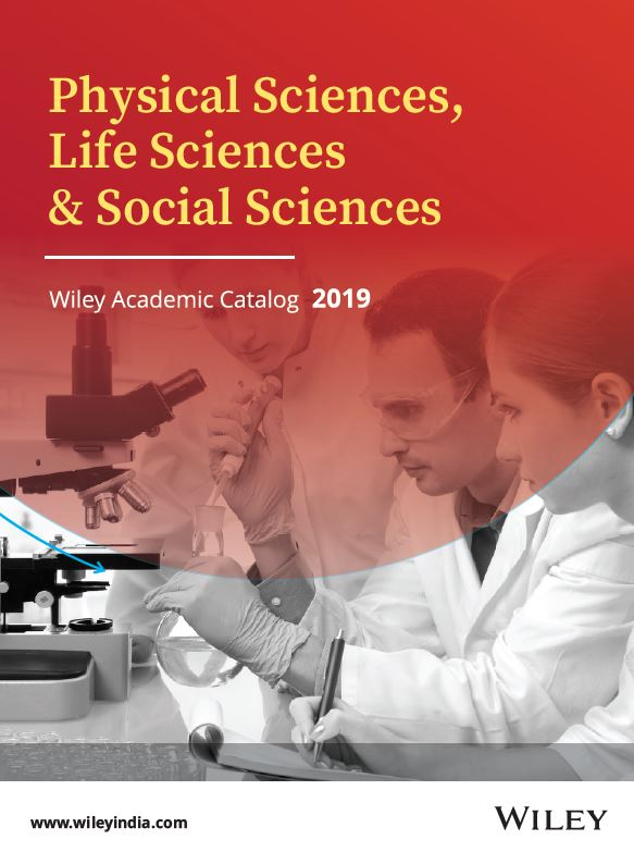Wiley Physical Science Catalog