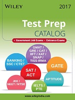 Wiley Test Prep Catalog 2017