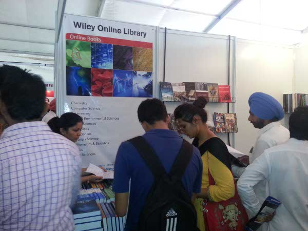 Wiley Participates in PU Book Fair